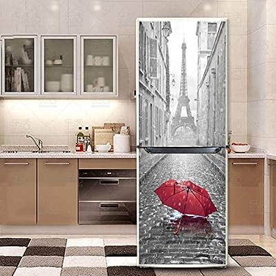 hll-036 Etiqueta Engomada del Refrigerador Armario Cubrir DIY ...