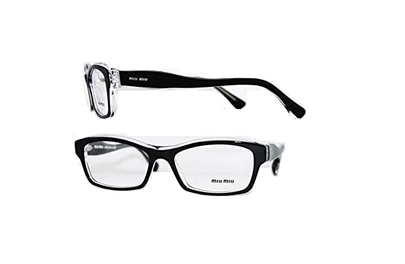 Amazon.com: Miu Miu MU02IV - 2AF1O1 Rx Eyeglass Frame 54mm: Clothing