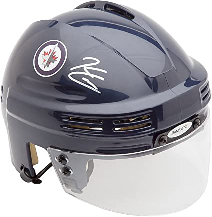 Kyle Connor Autographed Winnipeg Jets Navy Mini Helmet Uda At Amazon S Sports Collectibles Store