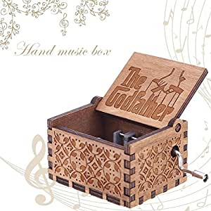 Powlance The Godfather Instrument India Wooden Music Box