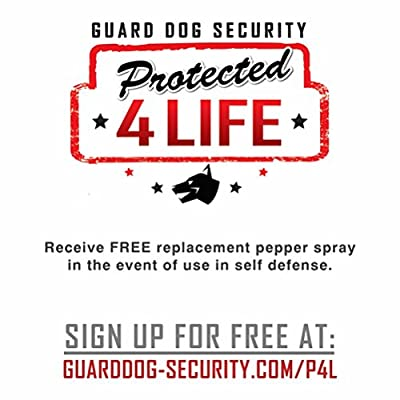 Guard Dog Instafire Runners Pepper Spray, Hottest Red Pepper Formula, Sweat Resistant, Fits in Hand
