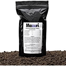 Mazuri Crocodilian Diet-Small, A Complete Diet Designed For Captively Held Crocodilians And Many Other Reptiles. 1lb(16oz)