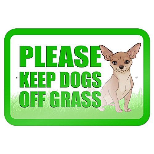 Please Keep Dogs Off Grass 9