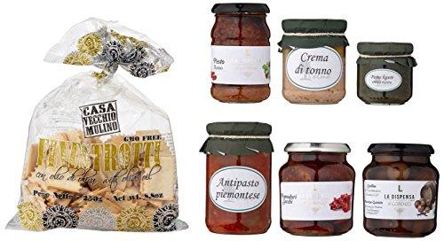 Geschenkset Antipasti (italienische Feinkost), 1er Pack