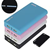 Good Time 20000mah Power Bank Universal External Powered Backup Porable Battery Charger for Iphone, IPad, Samsung, Blackberry and Many Other Devices (Black)