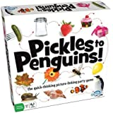 Outset Media - Pickles to Penguins Family Game - Quick Thinking Card Game (Ages 8 and Up)