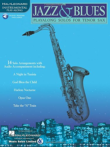 Jazz & Blues: Play-Along Solos For Tenor Sax Bk/Online Audio