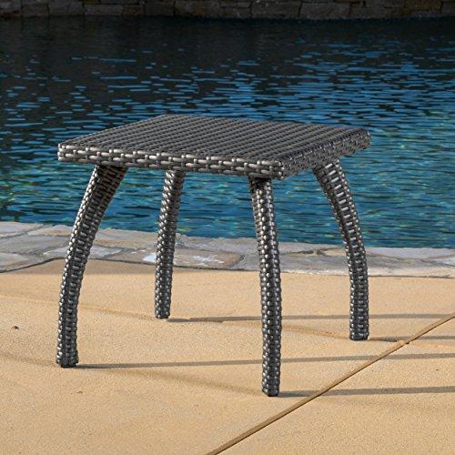 Cheap  Woodridge Outdoor Grey Wicker Accent Table
