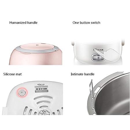 Amazon.com: Fiambrera eléctrica de doble capa con recipiente ...