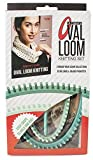 Leisure Arts - Ultimate Oval Loom Knitting Set | Pattern Book with 7 Easy to Follow Patterns | Oval Looms in 2 Sizes with Stitching Tool Included