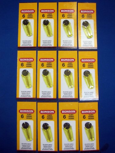 Ronson Flints - 12 Pack by Ronson (Image #1)