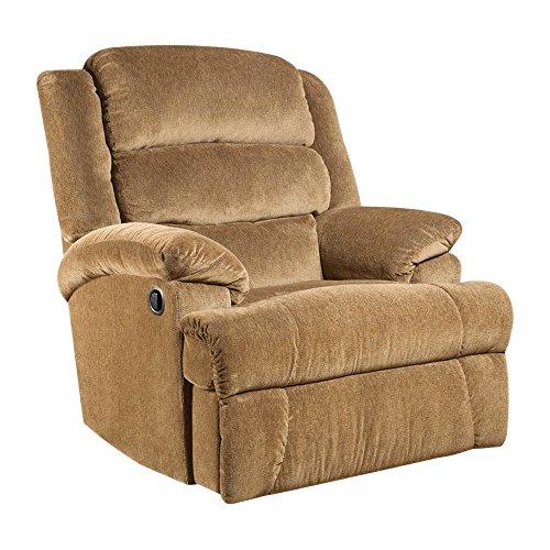Flash Furniture Big & Tall 350 lb. Capacity Aynsley Amber Microfiber Recliner