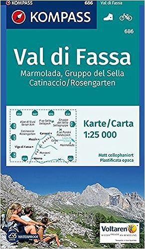 Val di Fassa, Marmolada, Gruppo del Sella, Catinaccio/Rosengarten 1 ...