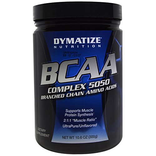 Dymatize Nutrition BCAA Complex 5050 Powder, 10.6 Ounce