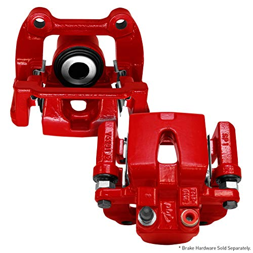 For 1990-1993 Mazda Miata 2 Rear Powder Coated Red Brake Calipers