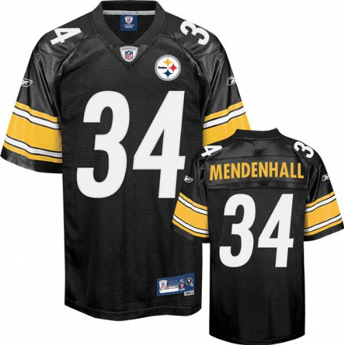 NFL Football Trikot Jersey PITTSBURGH STEELERS Mendenhall #34 black Premier rbk