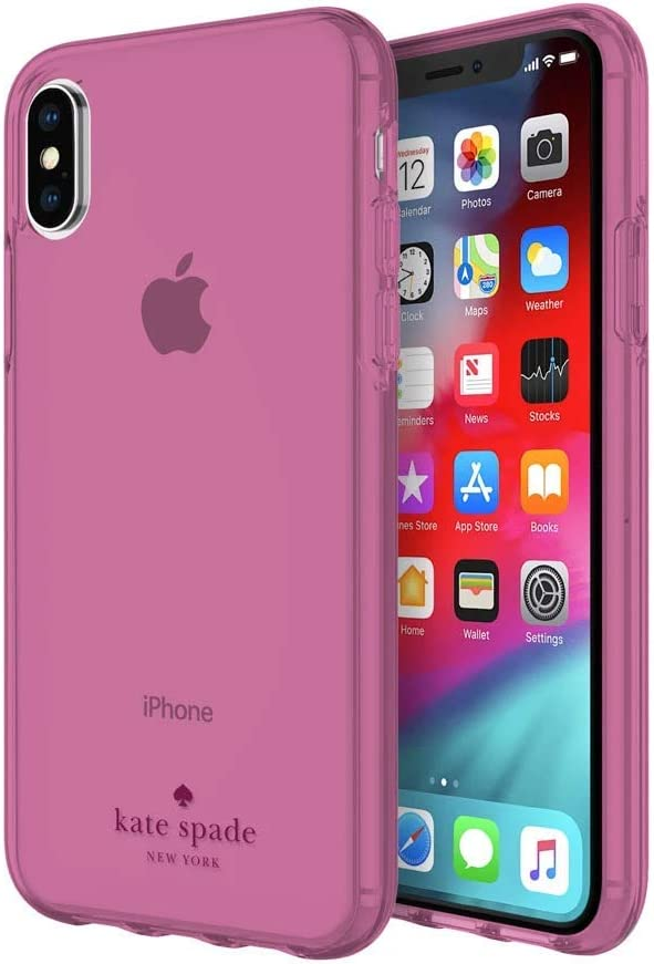 kate spade new york Purple Tinted Case Compatible with Apple iPhone X/Xs