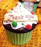 Thank You Cute Cupcake Trinket Box Super Sweet Ganz by Ganz