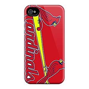 High Quality Hard Cell-phone Cases For Iphone 6plus (ABU15923iCCt) Custom Beautiful St. Louis Cardinals Pattern