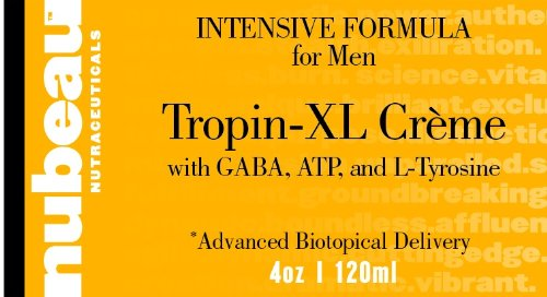 Tropin-XL Creme: MEN'S / MALE ANTI AGE HORMONE / GHRH SECRETAGOGUE / PERFORMANCE / REPRISE / ENERGIE / Métabolisme BOOSTER HOMEOPATHIQUE crème topique / GEL (~ 2 MOIS DOSE)