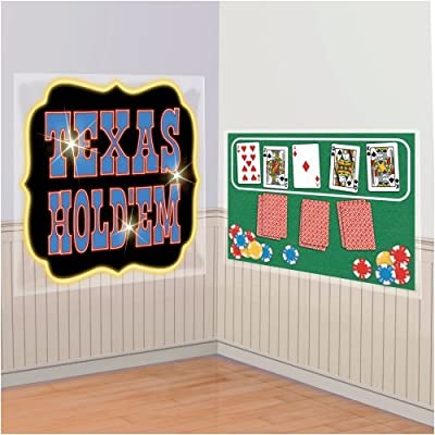 Casino Party Scene Setters Texas Hold Em Poker Add-Ons: Home & Kitchen