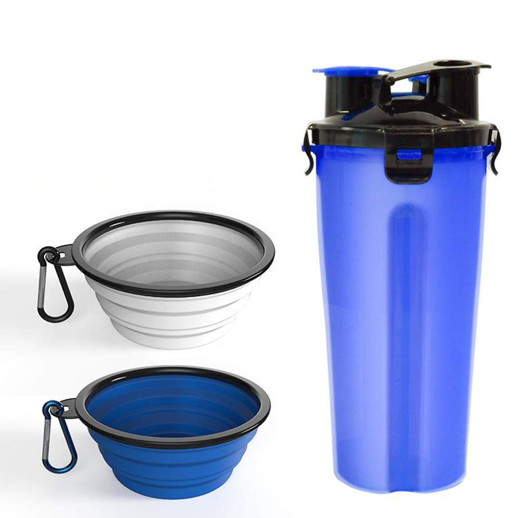 G Dog Drinking Water Bottle Out Portable Storage Grain Kettle Folding Dog Bowl Portable Cat Outdoor Drinking Water Tool,G