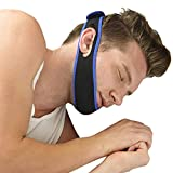Anti Snore Chin Strap Adjustable Free Nose Snore Stopper Devices Snore Blockers Aid Eliminator Snore Care Guard Gadget for Ease Breath Natural Comfortable Sleep Night Dreamzzz Siesta Cpap Men Women