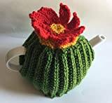 Cactus Tea Cozy Hand Knitted