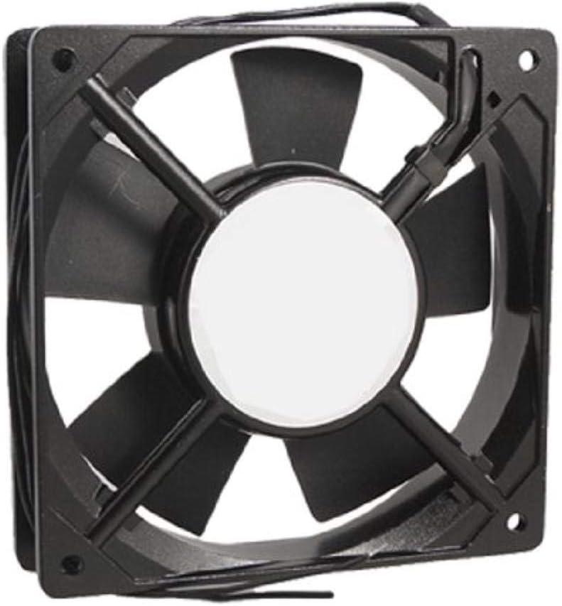 Miwaimao YOC-278g Black Metal Industrial 120 x 120 x 25mm 0.1A AC 220-240V Cooling Fan