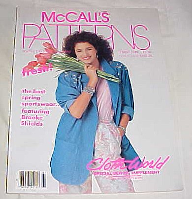 Liz Claiborne Pattern - McCall's Patterns Spring 1986 (Colth World Special Sewing Supplement)
