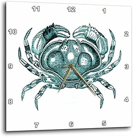 3dRose Print of Vintage Crab
