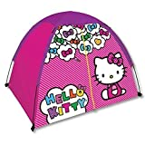 Sanrio Hello Kitty Youth 2 Pole Dome Tent with floor in Pink Every kid loves their own fort. Give your child a fun place to play or sleep with this Sanrio Hello Kitty 4' x 3' Dome Camping Tent WITH FLOOR. Perfect for playing in the backyard, ...