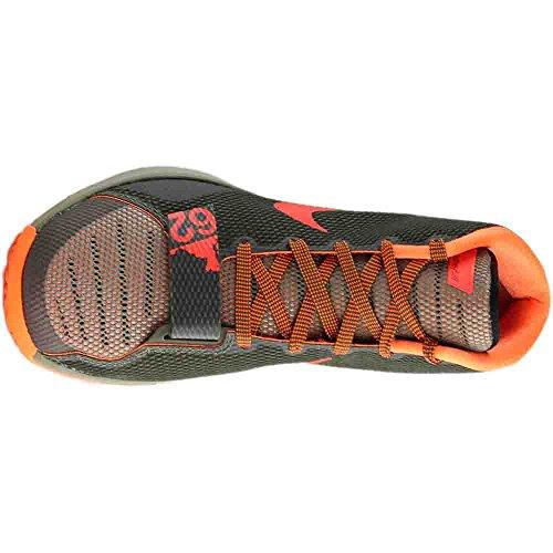 Nike KD Trey 5 III, Sneaker Alte Uomo Muschio/Corallo