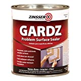 zinser sealer - Rust-Oleum 2304 White Zinsser Gardz Problem Surface Sealer, 1 quart Can (Pack of 6)