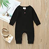 Newborn Baby Boy Girl Knitted Clothes Long Sleeve