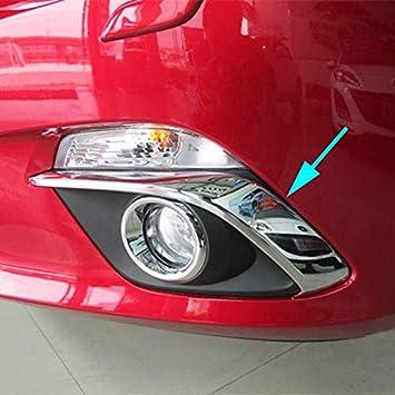Chrome Fog Light Cover Garnish Molding Trim Left for Kia Sportage 2014-2015