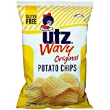 Utz Potato Chips (8 Bags) (Wavy Original)