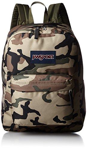 Jansport Backpack Camouflage (JanSport Superbreak Backpack - 1550cu in Desert Beige Conflict Camo, One Size)