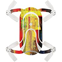 Skin For ZEROTECH Dobby Pocket Drone – Painted Wood | MightySkins Protective, Durable, and Unique Vinyl Decal wrap cover | Easy To Apply, Remove, and Change Styles | Made in the USA