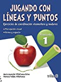 img - for JUGANDO CON LINEAS Y PUNTOS 1, PREESCOLAR book / textbook / text book