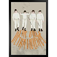 The Old Ultra Violence Minimalist Movie Framed Poster by ProFrames 14x20 inch