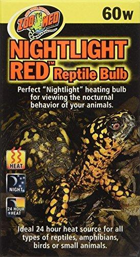 Zoo Med Nightlight Red Reptile Bulb 60 Watts
