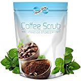 Rosehip Oil Dr Axe 16 Oz Organic Coffee Body Scrub with Dead Sea Salts and Essence of Peppermint Oil - FREE EBOOK - Promotes Natural Collagen Production, Exfoliates Skin, Reduces cellulite and stretch marks