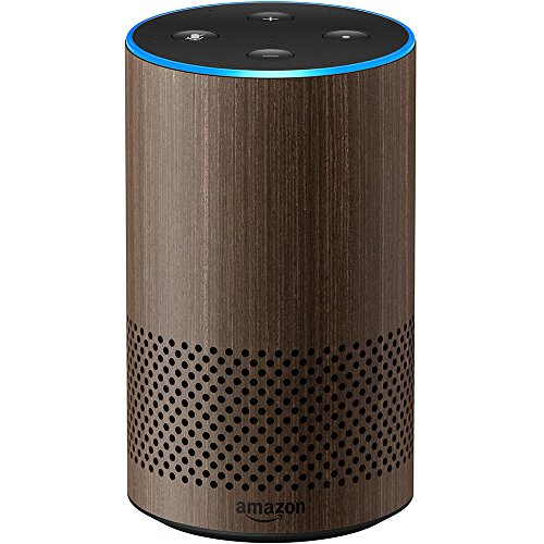 Echo (2nd Generation) - Smart speaker with Alexa and Dolby processing  - Limited Edition Walnut Finish