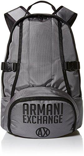 Armani Exchange Men's Utility Backpack Accessory, -grey/nero, - Giorgio Armani Com