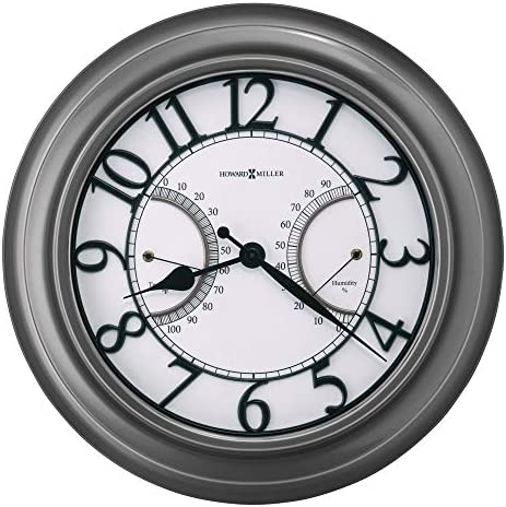 Howard Miller Tawney Indoor / Outdoor Wall Clock 625-668 34.25 Oversized Gallery