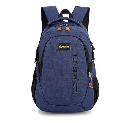 40e09177329f Amazon.com: YAXuan 2019 Men Backpack Oxford Male Travel Rucksack Bag ...