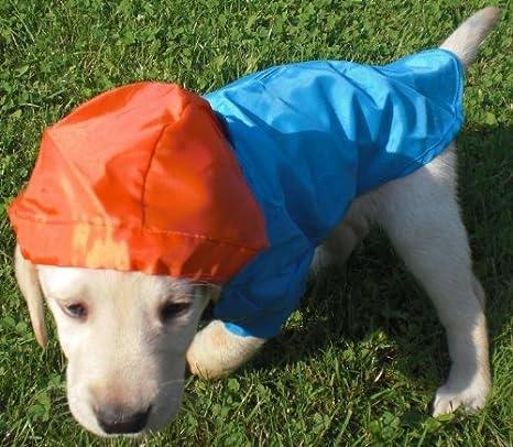 Hunde Regenmantel Regenjacke Regenschutz Regencape Jacke Mantel ...