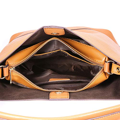 PU moyen à bandoulière Lychee à main Sac Sac bandoulière Caramel à Lady Sac sac modèle sac à bandoulière UawxAAqHBE