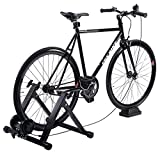 Eosphorus Bicycle Trainer Magnetic Resistance Bike Trainer Stand | Indoor Riding Exercise Portable Bicycle Training Quiet Roller